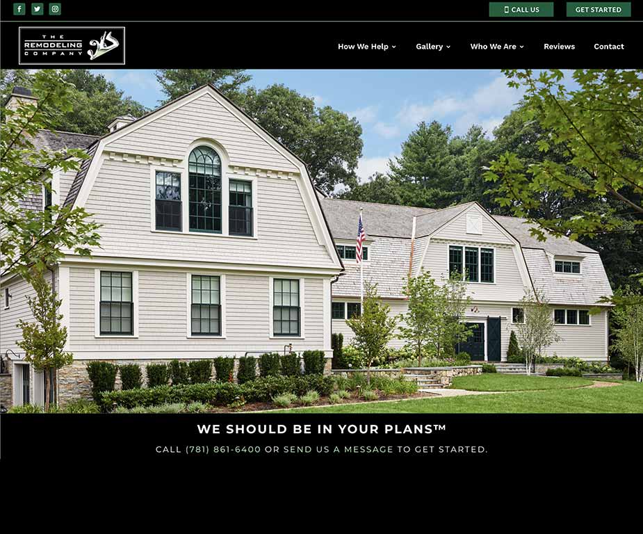 The Remodeling Company - Website